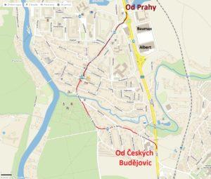 SezimovoUstí-mapa